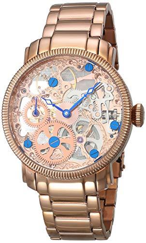 アクリボスXXIV 腕時計 メンズ Akribos XXIV Men's AK525RG Stainless Steel Mechanical Skeleton Bracelet WatchアクリボスXXIV 腕時計 メンズ