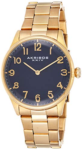 アクリボスXXIV 腕時計 メンズ 【送料無料】Akribos XXIV Men's Durable Sapphire Crystal Watch - Easy-to-Read Arabic Numerals On Stainless Steel Bracelet - AK787アクリボスXXIV 腕時計 メンズ
