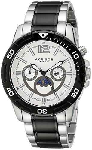 アクリボスXXIV 腕時計 メンズ 【送料無料】Akribos XXIV Men's AK574TTB Conqueror Swiss Quartz Divers Multi-function WatchアクリボスXXIV 腕時計 メンズ