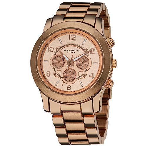 アクリボスXXIV 腕時計 レディース Akribos XXIV Women's AK583RG Ultimate Quartz Multi-Function Bracelet WatchアクリボスXXIV 腕時計 レディース