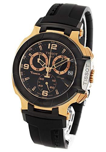 ティソ 腕時計 メンズ Tissot Men's T048.417.27.057.06 T-sport Rose-gold PVD Black Rubber Strap Watchティソ 腕時計 メンズ
