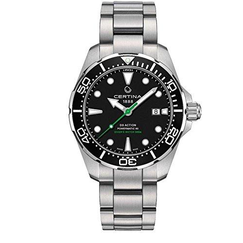 サーチナ 腕時計 メンズ スイス 【送料無料】Certina DS Action Diver Powermatic 80 サーチナ 腕時計 メンズ スイス