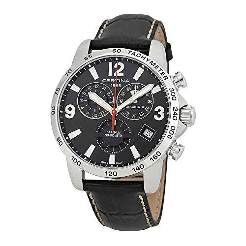 サーチナ 腕時計 メンズ スイス 【送料無料】Certina DS Podium Gent Chronograph GMT サーチナ 腕時計 メンズ スイス