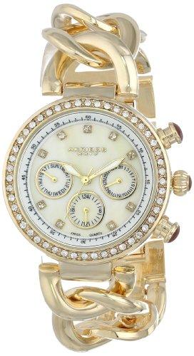 アクリボスXXIV 腕時計 レディース Akribos XXIV Women's AK640YG Lady Diamond Gold-Tone Chain Link WatchアクリボスXXIV 腕時計 レディース