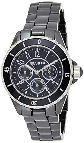 アクリボスXXIV 腕時計 レディース 【送料無料】Akribos XXIV Women's AK544BK Ceramic Multi-Function Bracelet WatchアクリボスXXIV 腕時計 レディース