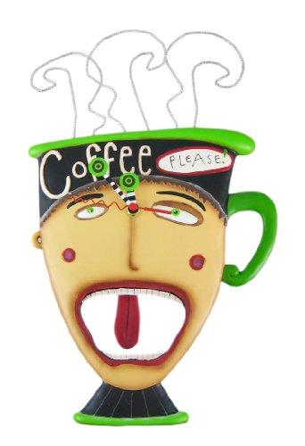 壁掛け時計 振り子時計 インテリア 海外モデル アメリカ Allen Designs COFFEE PLEASE Pendulum Wall Clock壁掛け時計 振り子時計 インテリア 海外モデル アメリカ