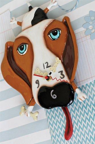 壁掛け時計 振り子時計 インテリア 海外モデル アメリカ 【送料無料】Allen Designs Buckley Pendulum Clock壁掛け時計 振り子時計 インテリア 海外モデル アメリカ