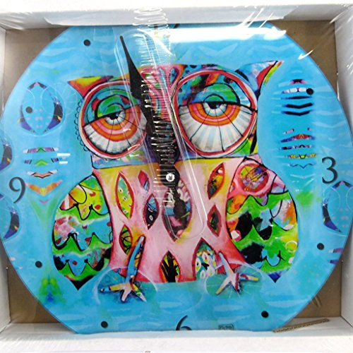 壁掛け時計 振り子時計 インテリア 海外モデル アメリカ Wall clock 'Allen Designs' owl (30 cm (0.00'') ).壁掛け時計 振り子時計 インテリア 海外モデル アメリカ