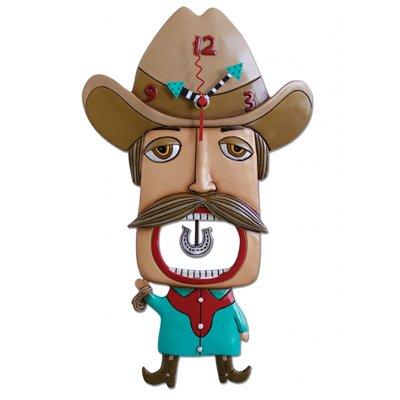 壁掛け時計 振り子時計 インテリア 海外モデル アメリカ Mustache Amigo Clock Allen Studio Designs壁掛け時計 振り子時計 インテリア 海外モデル アメリカ