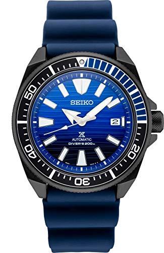 セイコー 腕時計 メンズ 【送料無料】Seiko Prospex SRPD09 Special Edition Blue Silicone Automatic Divers Watchセイコー 腕時計 メンズ