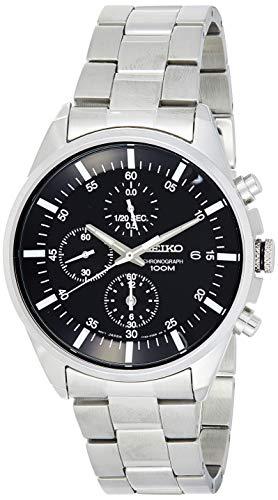 セイコー 腕時計 メンズ 【送料無料】Sieko Men's SNDC81 Stainless Steel Analog with Black Dial Watchセイコー 腕時計 メンズ