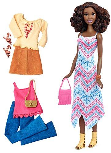 バービー バービー人形 ファッショニスタ DTF08 【送料無料】Barbie Fashionistas Doll & Fashions Boho Fringe, Tallバービー バービー人形 ファッショニスタ DTF08