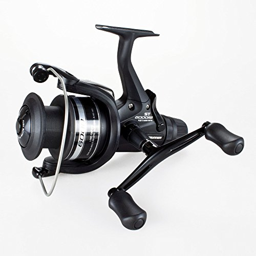 リール Shimano シマノ 釣り道具 フィッシング BTRST6000RB Shimano Baitrunner ST 6000 RB Standard Baitrunner Spinning Fishing Reel With Rear Drag, BTRST6000RBリール Shimano シマノ 釣り道具 フィッシング BTRST6000RB