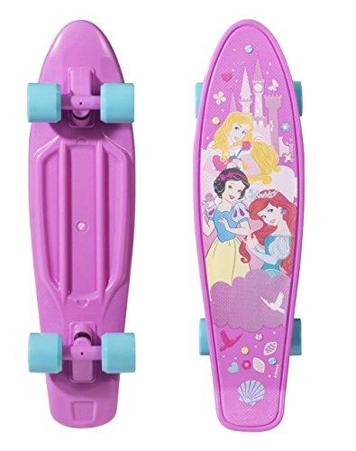 スタンダードスケートボード スケボー 海外モデル 直輸入 159882 PlayWheels Disney Princess 21'' Kids Complete Plastic Skateboardスタンダードスケートボード スケボー 海外モデル 直輸入 159882