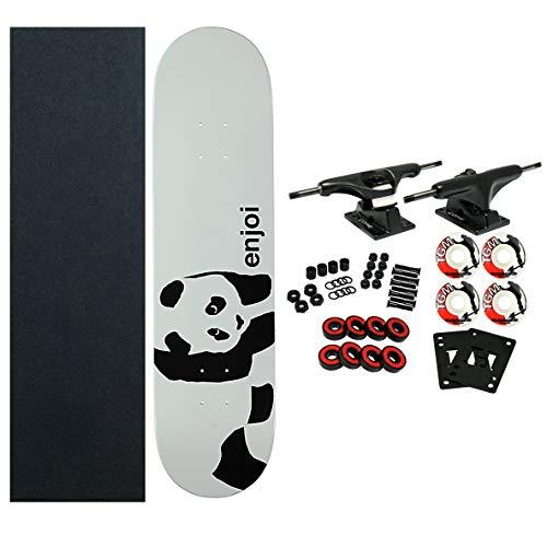 スタンダードスケートボード スケボー 海外モデル 直輸入 DECK ENJOI Skateboards WHITEY PANDA Complete SKATEBOARD New!スタンダードスケートボード スケボー 海外モデル 直輸入 DECK