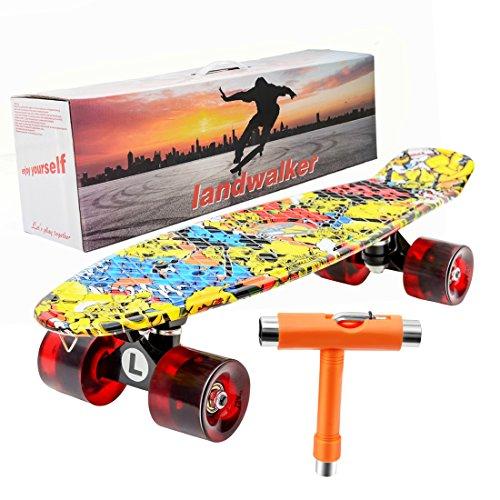 スタンダードスケートボード スケボー 海外モデル 直輸入 Landwalker 22