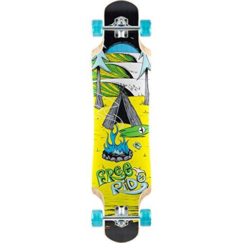 スタンダードスケートボード スケボー 海外モデル 直輸入 FRS145C FreeRide Backcountry Complete Skateboard, Drop-Down, Blueスタンダードスケートボード スケボー 海外モデル 直輸入 FRS145C