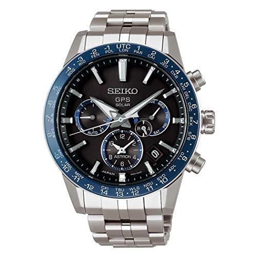 """セイコー 腕時計 メンズ 【送料無料】Seiko ASTRON Watch Astron 3rd Generation Solar GPS Titanium Model Black Letter Sapphire Glass Diamond Shield SBXC001 Men""""sセイコー 腕時計 メンズ"""