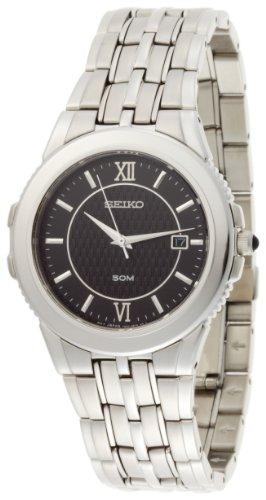 セイコー 腕時計 メンズ 【送料無料】Seiko Men's SKK637 Le Grand Sport Silver-Tone Watchセイコー 腕時計 メンズ