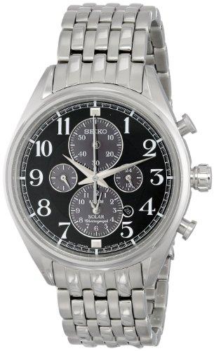 Silver メンズ Display Men's SSC207 Analog Japanese 腕時計 Quartz メンズ 【送料無料】Seiko Watch腕時計 セイコー セイコー