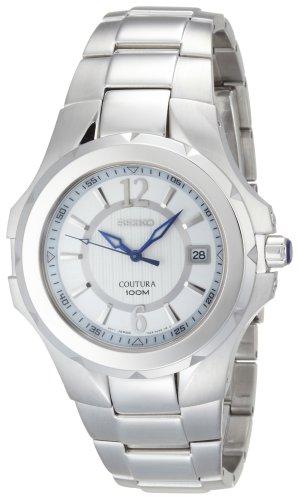 セイコー 腕時計 White メンズ 夏のボーナス特集 Seiko Men's SGEE65 メンズ Coutura Silver-Tone メンズ Silver And White Dial Watchセイコー 腕時計 メンズ 夏のボーナス特集, 秋田県:aa63301d --- refractivemarketing.com