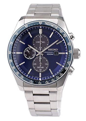 セイコー 腕時計 メンズ Seiko Solar Mens Analog Solar Watch with Stainless Steel Bracelet SSC719P1セイコー 腕時計 メンズ