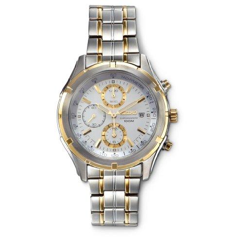 セイコー 腕時計 メンズ 【送料無料】Seiko Chronograph Stainless Steel Men's watch #SNDC37P1セイコー 腕時計 メンズ