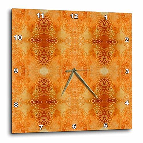 壁掛け時計 インテリア 海外モデル アメリカ 輸入 3dRose dpp_35051_3 Burnt Orange Tye Dye-Wall Clock, 15 by 15-Inch壁掛け時計 インテリア 海外モデル アメリカ 輸入