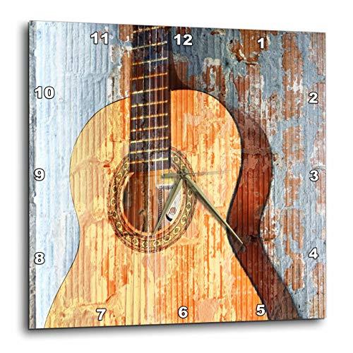 壁掛け時計 インテリア 海外モデル アメリカ 輸入 3dRose dpp_29238_3 Vintage Guitar Music Instruments-Wall Clock, 15 by 15-Inch壁掛け時計 インテリア 海外モデル アメリカ 輸入