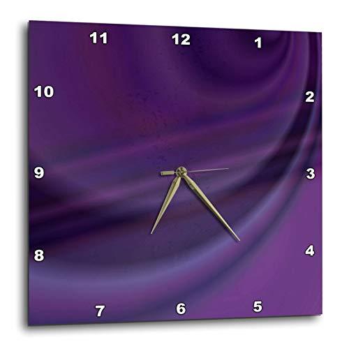 壁掛け時計 インテリア 海外モデル アメリカ 輸入 3dRose David Zydd - Colorful Abstract Designs - Purple Sky - Abstract Gradient Background - 15x15 Wall Clock (DPP_289086_3)壁掛け時計 インテリア 海外モデル アメリカ 輸入