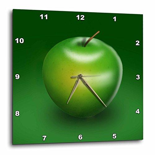 壁掛け時計 インテリア 海外モデル アメリカ 輸入 3dRose dpp_26779_3 Delicious Green Apple Digital Representation of Fruit-Wall Clock, 15 by 15-Inch壁掛け時計 インテリア 海外モデル アメリカ 輸入