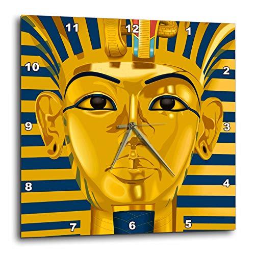 壁掛け時計 インテリア 海外モデル アメリカ 輸入 3dRose Russ Billington Designs - Graphic Image of Tutankhamun - 15x15 Wall Clock (DPP_291564_3)壁掛け時計 インテリア 海外モデル アメリカ 輸入