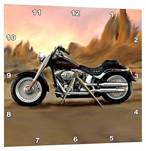 壁掛け時計 インテリア 海外モデル アメリカ 輸入 3dRose Wall Clock Picturing Harley-Davidson174; Motorcycle (DPP_4841_3)壁掛け時計 インテリア 海外モデル アメリカ 輸入