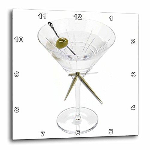 壁掛け時計 インテリア 海外モデル アメリカ 輸入 3dRose dpp_4549_3 Martini-Wall Clock, 15 by 15-Inch壁掛け時計 インテリア 海外モデル アメリカ 輸入