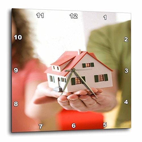 壁掛け時計 インテリア 海外モデル アメリカ 輸入 3dRose TDSwhite ? Miscellaneous Photography - Real Estate Agents - 13x13 Wall Clock (DPP_285362_2)壁掛け時計 インテリア 海外モデル アメリカ 輸入