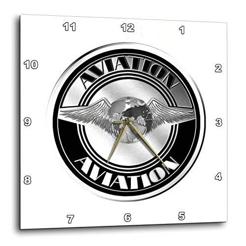 壁掛け時計 インテリア 海外モデル アメリカ 輸入 3dRose Macdonald Creative Studios ? Aviation - Retro Vintage Aviation Art from The Golden Age of Aircraft. - 15x15 Wall Clock (DPP_299265_3)壁掛け時計 インテリア 海外モデル アメリカ 輸入