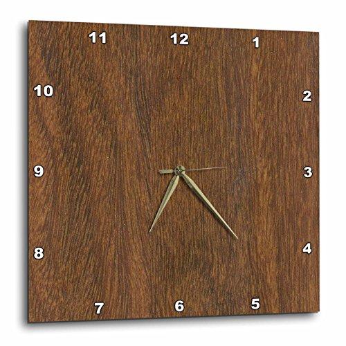 壁掛け時計 インテリア 海外モデル アメリカ 輸入 3dRose dpp_41630_3 Teak Wood Wall Clock, 15 by 15-Inch壁掛け時計 インテリア 海外モデル アメリカ 輸入