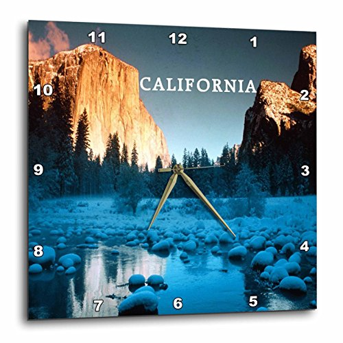 壁掛け時計 インテリア 海外モデル アメリカ 輸入 3dRose DPP_80709_3 Majestic El Capitan Yosemite Park California-Wall Clock, 15 by 15-Inch壁掛け時計 インテリア 海外モデル アメリカ 輸入