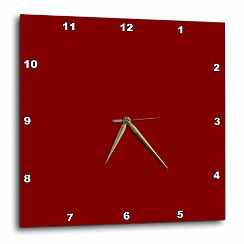 壁掛け時計 インテリア 海外モデル アメリカ 輸入 3dRose Kultjers Colors - Color maroon - 15x15 Wall Clock (dpp_282773_3)壁掛け時計 インテリア 海外モデル アメリカ 輸入