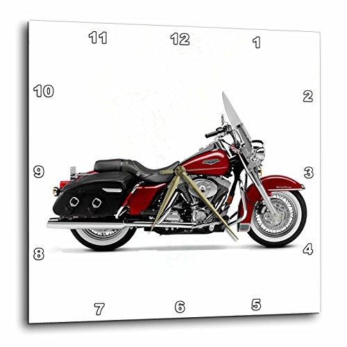 壁掛け時計 インテリア 海外モデル アメリカ 輸入 3dRose dpp_ 4487_3 Harley-Davidson Motorcycle Picture Wall Clock壁掛け時計 インテリア 海外モデル アメリカ 輸入