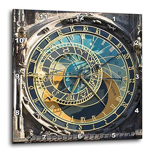 壁掛け時計 インテリア 海外モデル アメリカ 輸入 3dRose DPP_81259_3 Astronomical Clock, Orloj, Prague, Czech Republic EU06 THA0021 Tom Haseltine Wall Clock, 15 by 15-Inch壁掛け時計 インテリア 海外モデル アメリカ 輸入