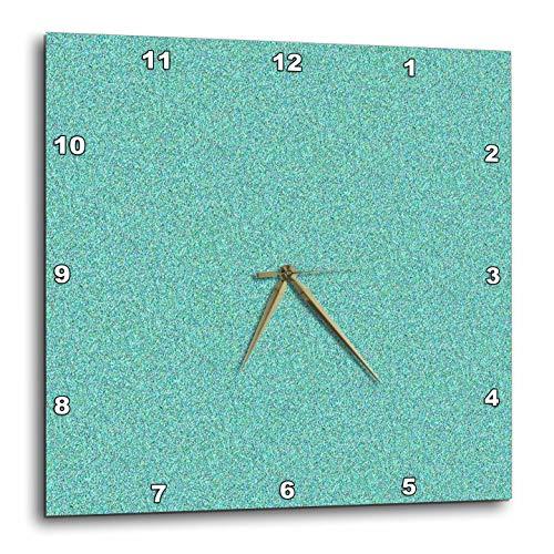 壁掛け時計 インテリア 海外モデル アメリカ 輸入 3dRose Lens Art by Florene- Glitter - Image of Aqua Glitter - 15x15 Wall Clock (DPP_291443_3)壁掛け時計 インテリア 海外モデル アメリカ 輸入