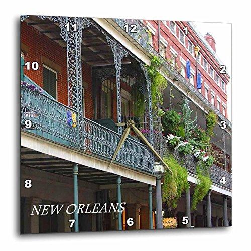 壁掛け時計 インテリア 海外モデル アメリカ 輸入 3dRose French Quarter New Orleans-Wall Clock, 15-inch (DPP_43748_3)壁掛け時計 インテリア 海外モデル アメリカ 輸入