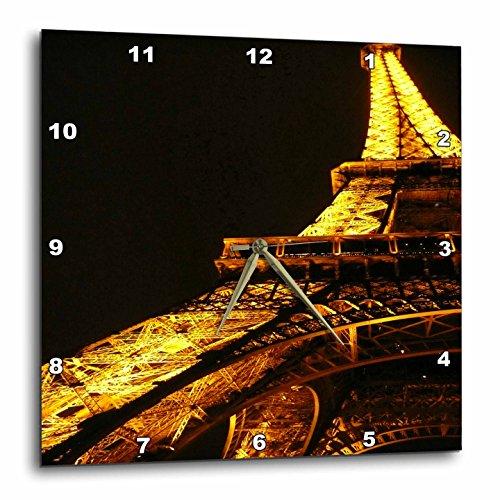壁掛け時計 インテリア 海外モデル アメリカ 輸入 3dRose dpp_3161_3 Eiffel Tower-Wall Clock, 15 by 15-Inch壁掛け時計 インテリア 海外モデル アメリカ 輸入
