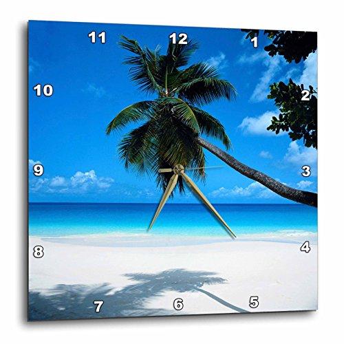 壁掛け時計 インテリア 海外モデル アメリカ 輸入 3dRose DPP_50951_3 Tropical Paradise Awaits Wall Clock, 15 by 15-Inch壁掛け時計 インテリア 海外モデル アメリカ 輸入