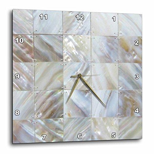 壁掛け時計 インテリア 海外モデル アメリカ 輸入 3dRose dpp_50911_3 Picturing Mother of Pearl Wall Clock, 15 by 15-Inch壁掛け時計 インテリア 海外モデル アメリカ 輸入