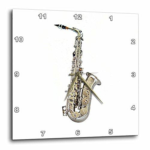 壁掛け時計 インテリア 海外モデル アメリカ 輸入 3dRose dpp_4112_3 Saxophone-Wall Clock, 15 by 15-Inch壁掛け時計 インテリア 海外モデル アメリカ 輸入