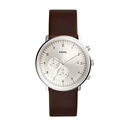 フォッシル 腕時計 メンズ 【送料無料】Fossil Men's Chase Timer Brown Leather Watch FS5488フォッシル 腕時計 メンズ