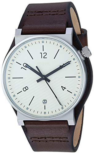 フォッシル 腕時計 メンズ 【送料無料】Fossil Men's Barstow Stainless Steel Quartz Leather Strap, Brown, 22 Casual Watch (Model: FS5507)フォッシル 腕時計 メンズ