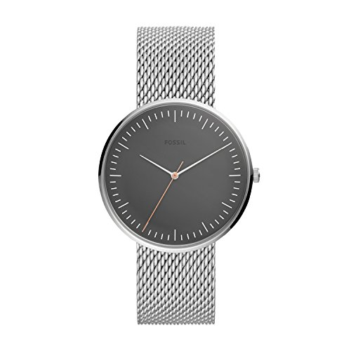 フォッシル 腕時計 メンズ 【送料無料】Fossil Men's The Essentialist Quartz Stainless-Steel Strap, Silver, 22 Casual Watch (Model: FS5469)フォッシル 腕時計 メンズ
